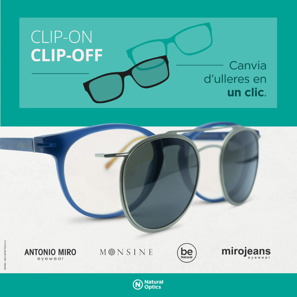 lents clip-on/clip-off